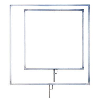 Flat Aluminium Flag Frame