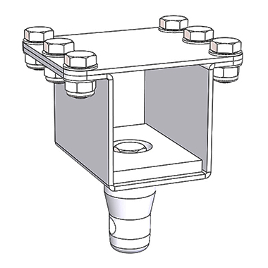 SP11544 - Square Modular Bracket