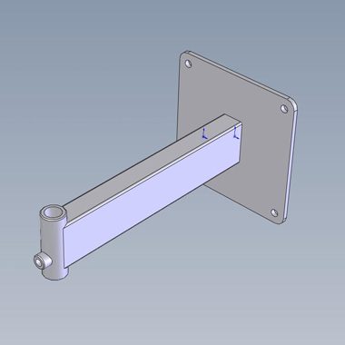 SP4274 - 16mm Receiver Arm