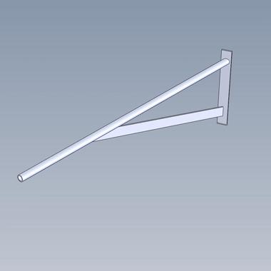 SP4541 - Braced Boom Arm