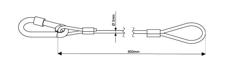 SWL 15Kg - 585mm