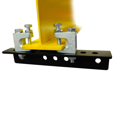Girder Clamp with Lindapters