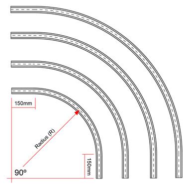 Curved Rails