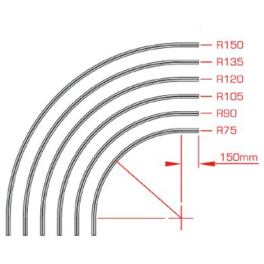 Studio Rail 60 - Curves