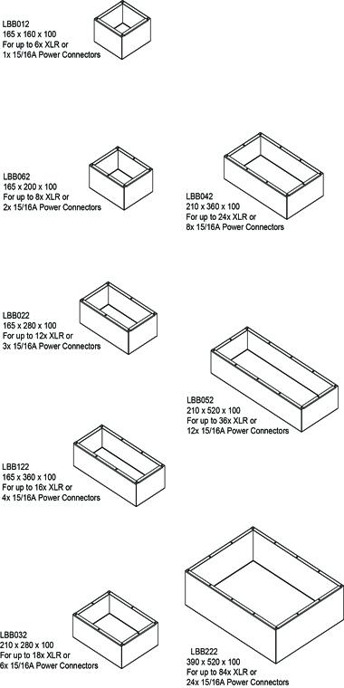 Standard Box Range