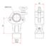 Stabiliser Coupler with Pivot Plug - Image: 2