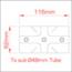 Two Socket Cross (Slimline) - Image: 4