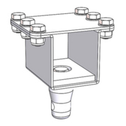 SP11544 - Square Modular Bracket