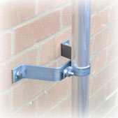 Pipe to Wall Brackets