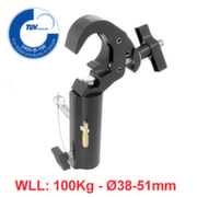 Slimline Quick Trigger TV Clamp